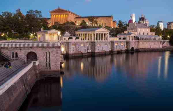 Best places to take photos in Philly: Fairmount Water Works
