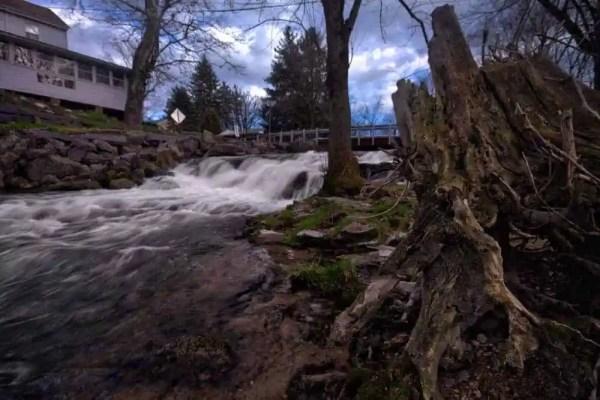 Letort Falls in Carlisle, Pennsylvania
