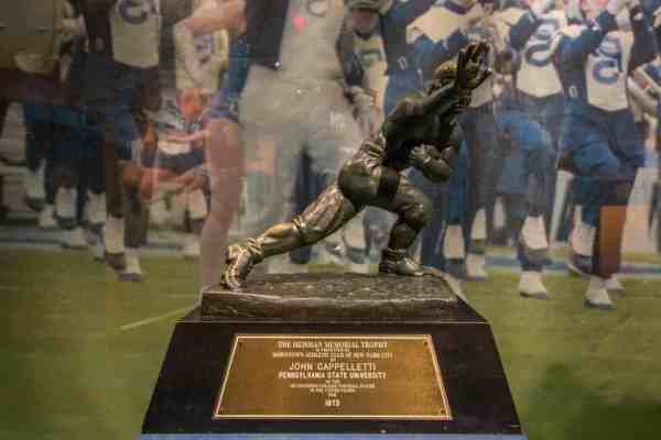 Heisman Trophy at the Penn State All-Sports Museum in Centre County, PA