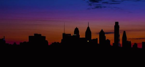 Best places to photography sunset in Philly: Benjamin Franklin Bridge