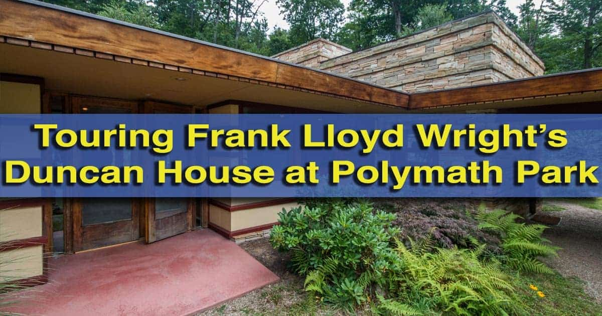 Touring Duncan House at Polymath Park in Pennsylvania's Laurel Highlands