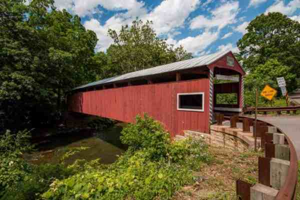 Things to do in Pennsylvania in October: Covered Bridge tour in Columbia County