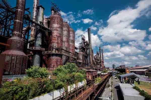 SteelStacks in Bethlehem, Pennsylvnaia