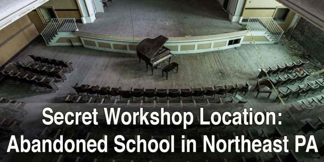 Secret Workshop Location: Abandoned School