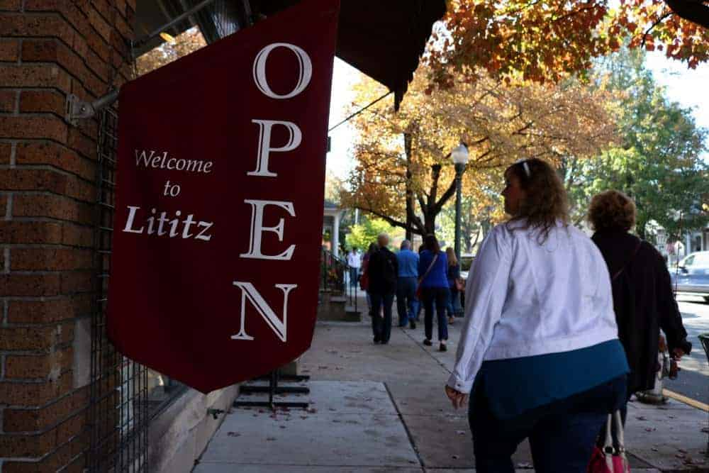 shopping in Lititz, PA