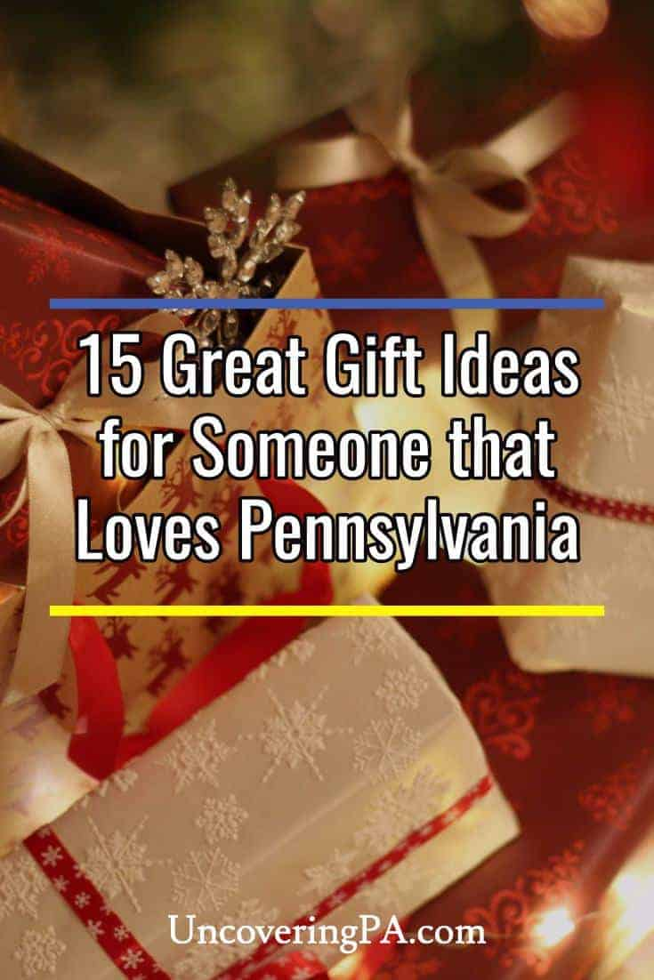 PA Gift Giving Guide: 15 Gifts for someone that loves Pennsylvania #christmas #holidays #xmas #giftguide