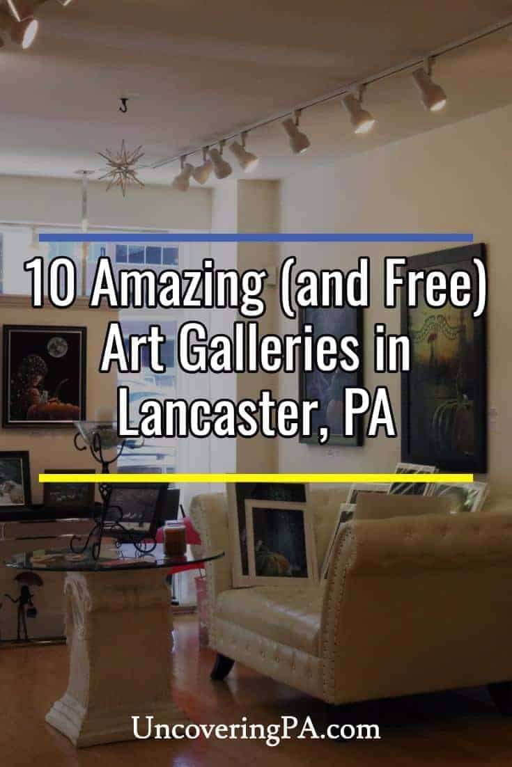 10 Free art galleries in Lancaster, Pennsylvania