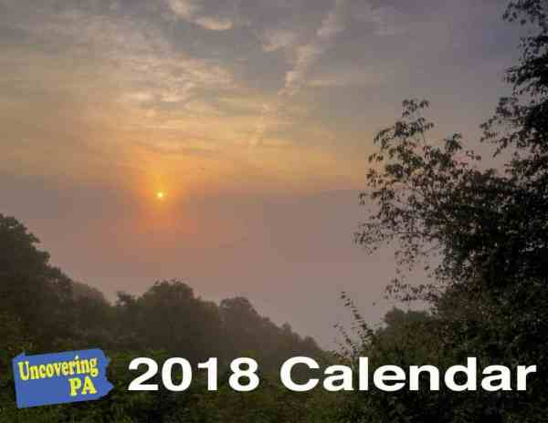 Pennsylvania themed gifts - 2018 Calendar