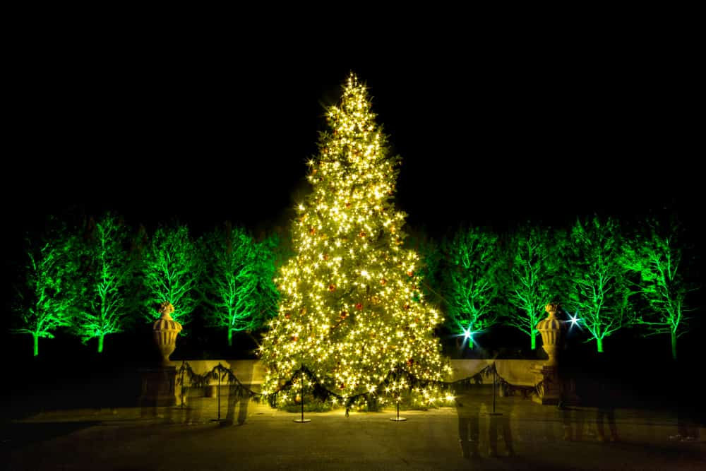 christmas displays at longwood gardens in kennett square pa