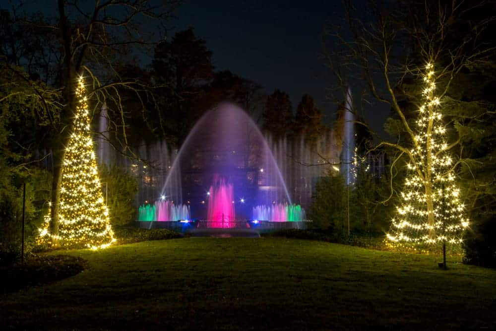 Longwood Gardens Christmas Lights Review