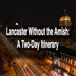 Itinerary for Lancaster