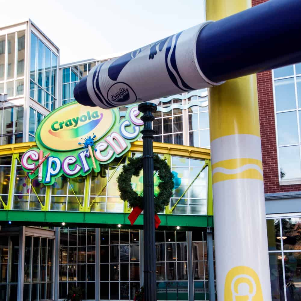 the crayola experience in easton a great destination for artists of