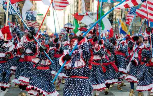 Guide to the Mummers Parade: Mummers History