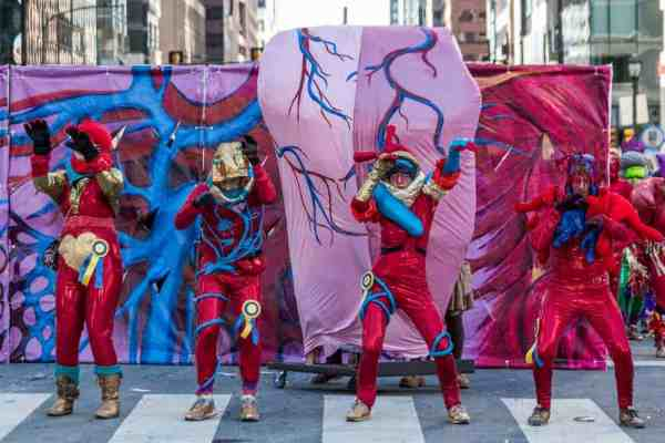 Controversy at the Mummers Parade: Universal Health Care
