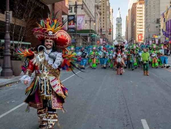 Where is the Mummers Parade in Philly?