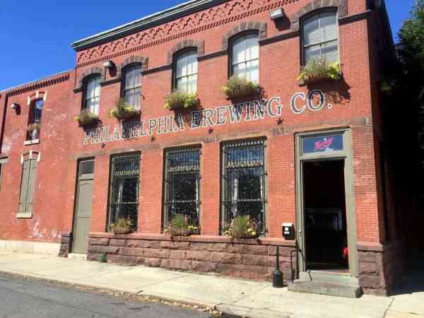 Exterior of Philadelphia Brewing Company