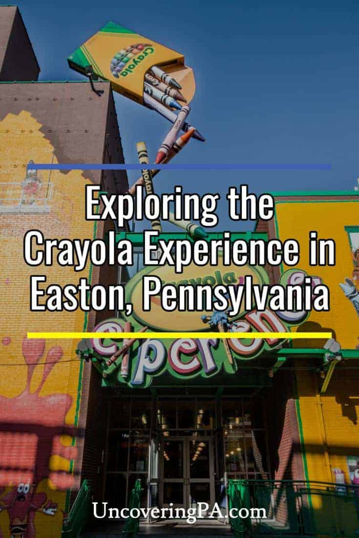 My review of the Crayola Experience in Easton, Pennsylvania