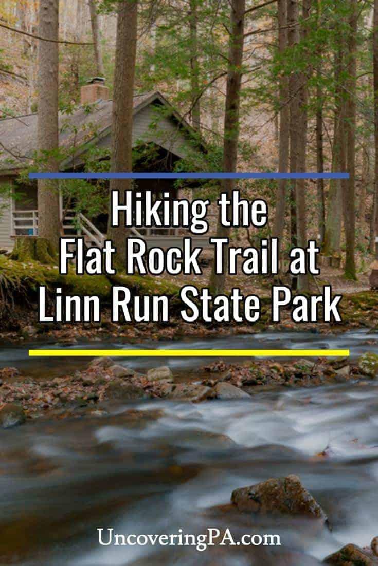 Hiking the Flat Rock Trail in Pennsylvania's Linn Run State Park
