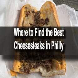 Cheesesteaks in Philadelphia