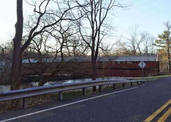 How to get to Dreibelbis Covered Bridge in Berks County, Pennsylvania