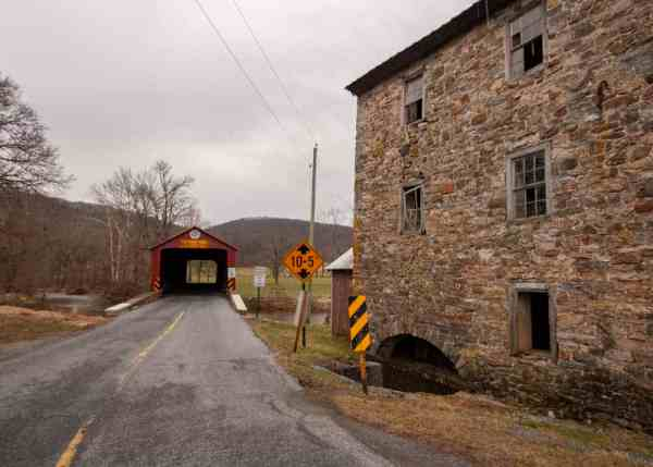 How to get to Greismer's Covered Bridge in Berks County, PA