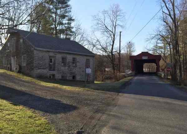 How to get to Kutz Mill Covered Bridge near Kutztown, PA