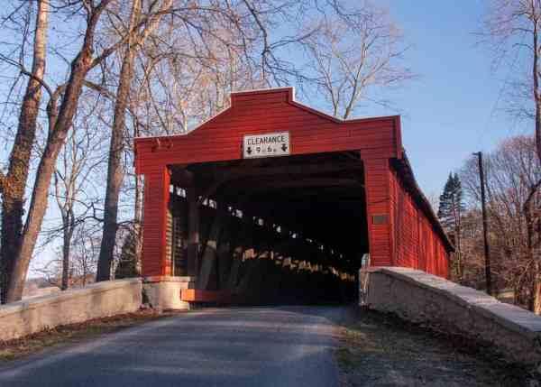 Kutz's Mill Covered Bridge in Berks County, PA