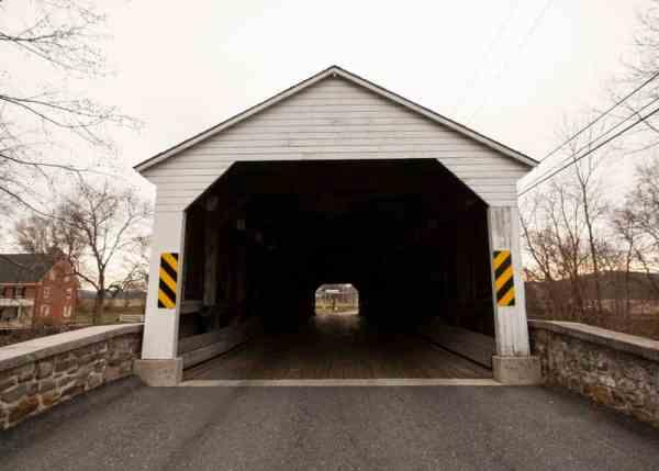 Pleasantville Covered Bridge in Berks County, Pennsylvania