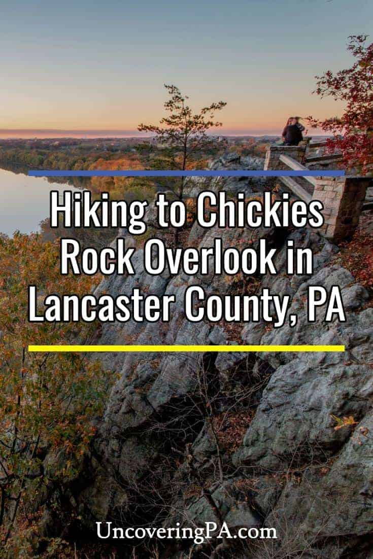 Hiking to Chickies Rock Overlook in Lancaster County, Pennsylvania