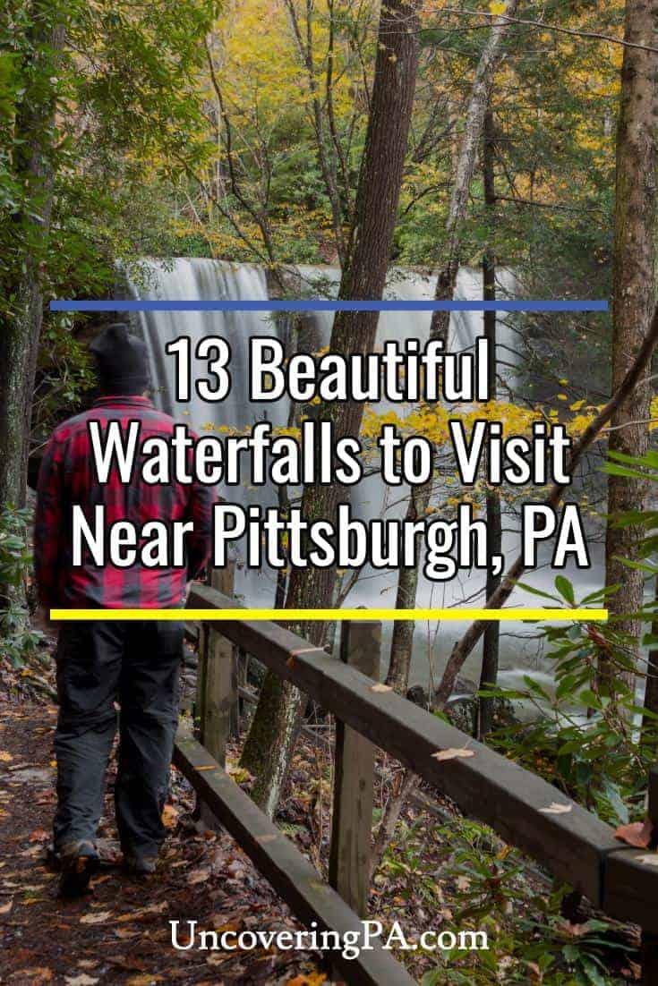 Beautiful waterfalls to visit near Pittsburgh, Pennsylvania