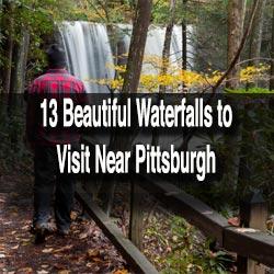 Waterfalls near Pittsburgh, PA