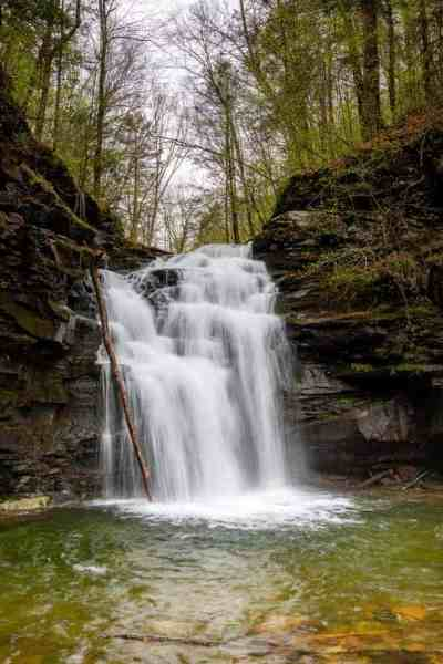 Waterfalls of SGL 13 in Sullivan County, PA