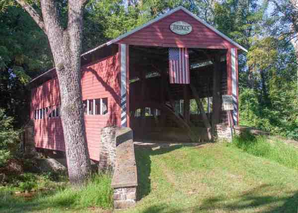 Heikes Covered Bridge in Adams County, PA