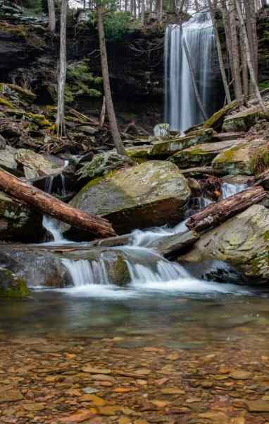 Jacoby Falls in Lycoming County, PA