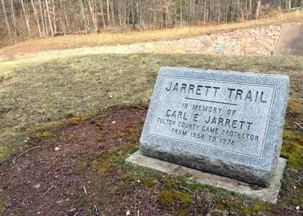 Jarrett Trail trailhead