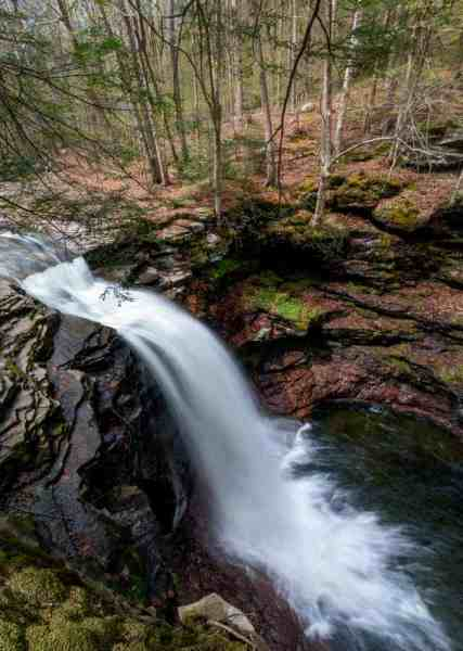 Lewis Falls in State Game Lands 13