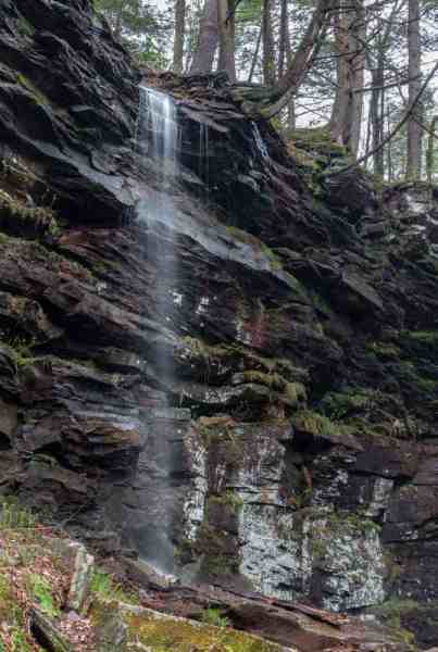 Waterfalls in State Game Lands 13
