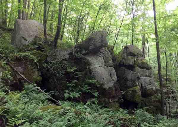 How to get to Logan Falls near Marienville, Pennsylvania