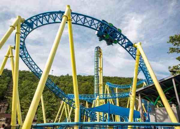 Impulse coaster at Knoebels Amusement Park