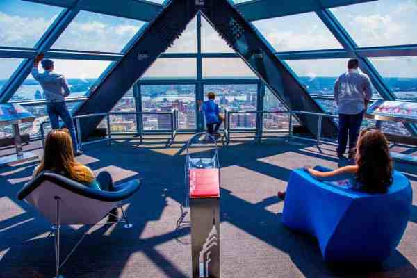 Views from the One Liberty Observation deck are perfect for the whole family.