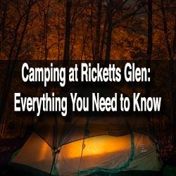 Camping at Ricketts Glen