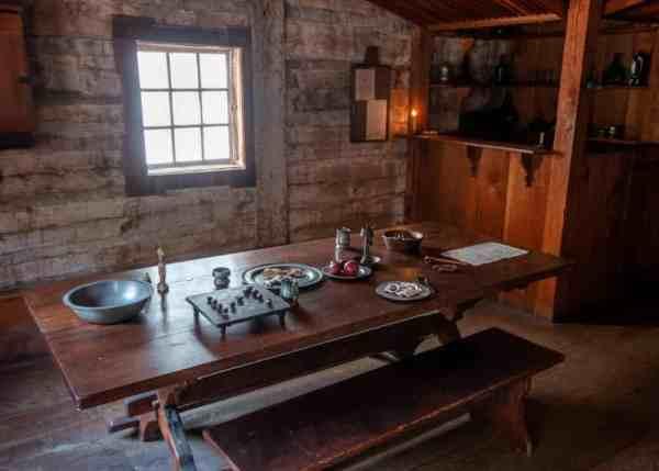 Inside the Golden Plough Tavern in York, PA