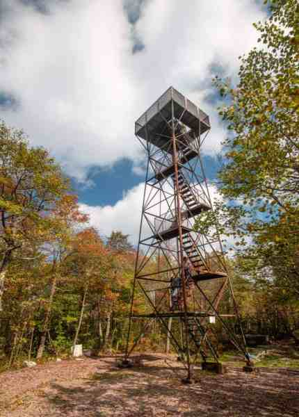 Mount Davis Observation Tower in PA