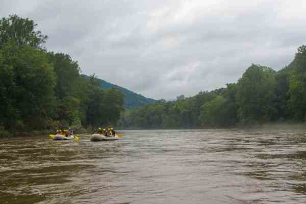Middle Yough White Water Rafting in Ohiopyle, Pennsylvania