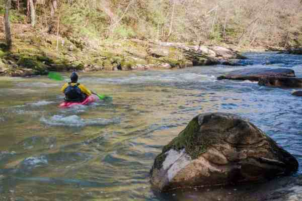 White water boating in McConnells Mill State Park