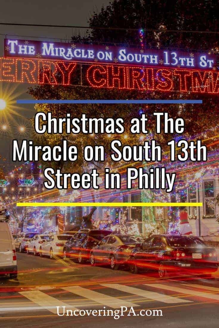 The Miracle on South 13th Street is one of the best Christmas things to do in Philadelphia, Pennsylvania #Philly #PA