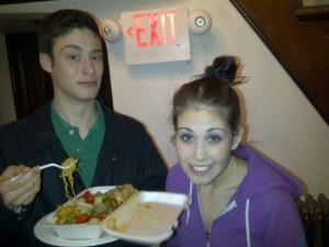 Jason and Jessica at Alpha Gamma Delta