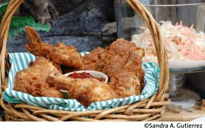 Latin Fried Chicken with Smoky Ketcup