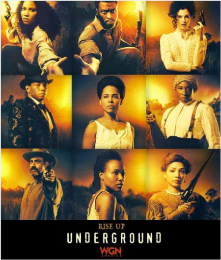 promotional photo from WGN's Underground series