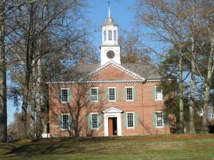 1767 Chowan County Courthouse, National Historic Landmark. Harriet Jacobs\'s grandmother, Molly Horniblow, was freed from slavery here.